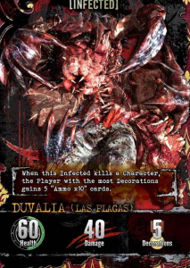 Resident Evil Deck Building Game Infected Card