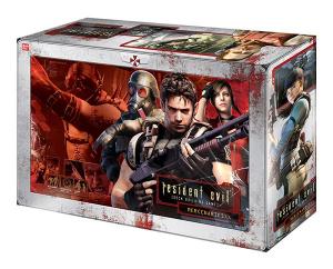 Resident Evil Deck Building Game Mercenaries Box Art
