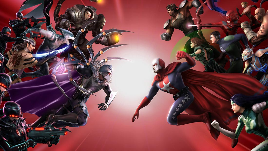 CelJaded Top 100 Video Game Bosses City of Villains Artwork Banner
