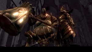 Best Video Game Bosses Dragonslayer Ornstein and Executioner Smough