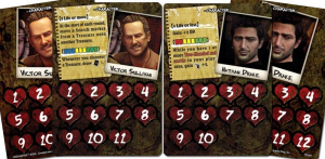 Uncharted: The Board Game Promo Cards