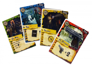Uncharted: The Board Game Cards