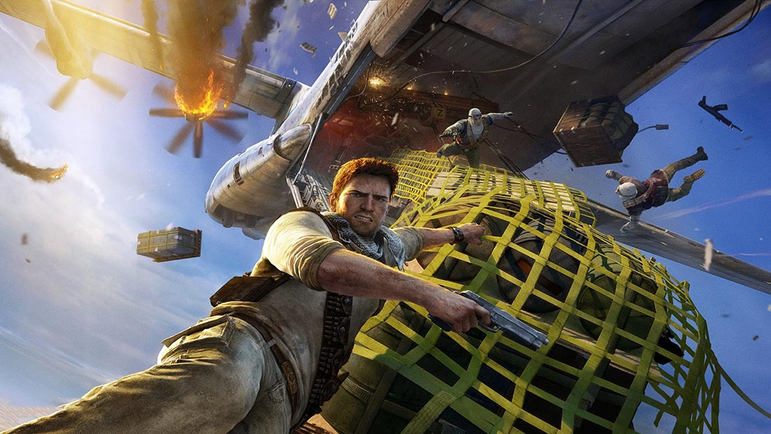 Uncharted: The Board Game Artwork Banner