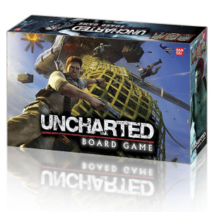 Uncharted: The Board Game Box Art