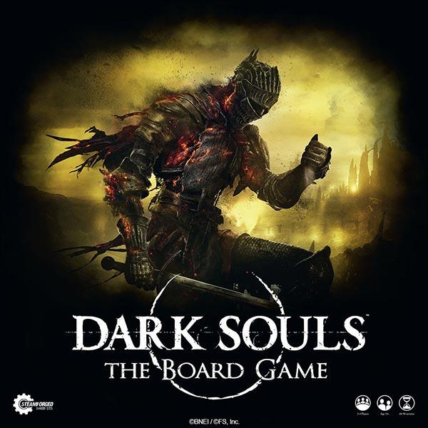 Dark Souls: The Board Game Review Box Art