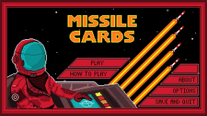 Missle Cards Title Screen