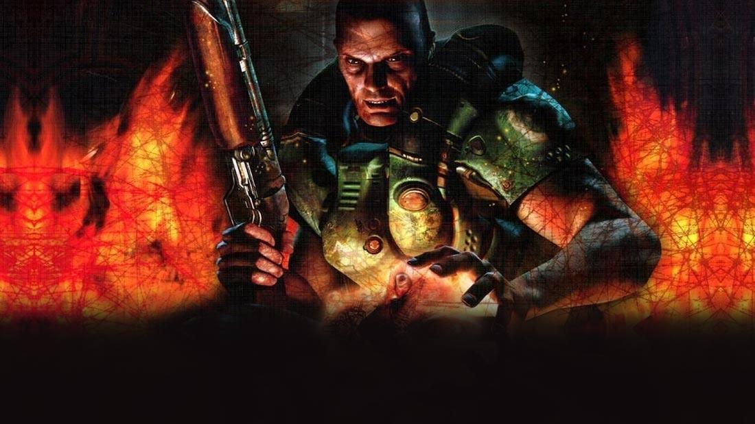 DOOM: The Boardgame Banner Artwork