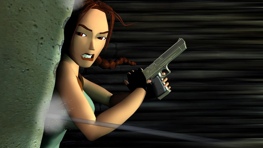 Tomb Raider CCG Collectible Card Game Artwork Banner