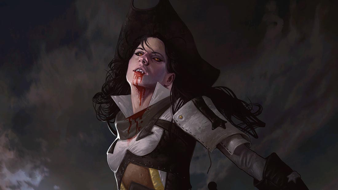 Best MTG Flavor Text Consecrated By Blood Artwork Banner