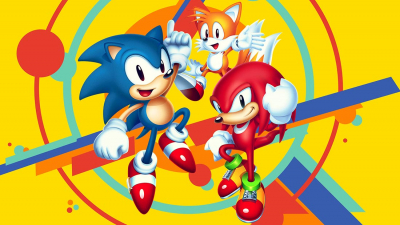 Sonic Mania Banner Art