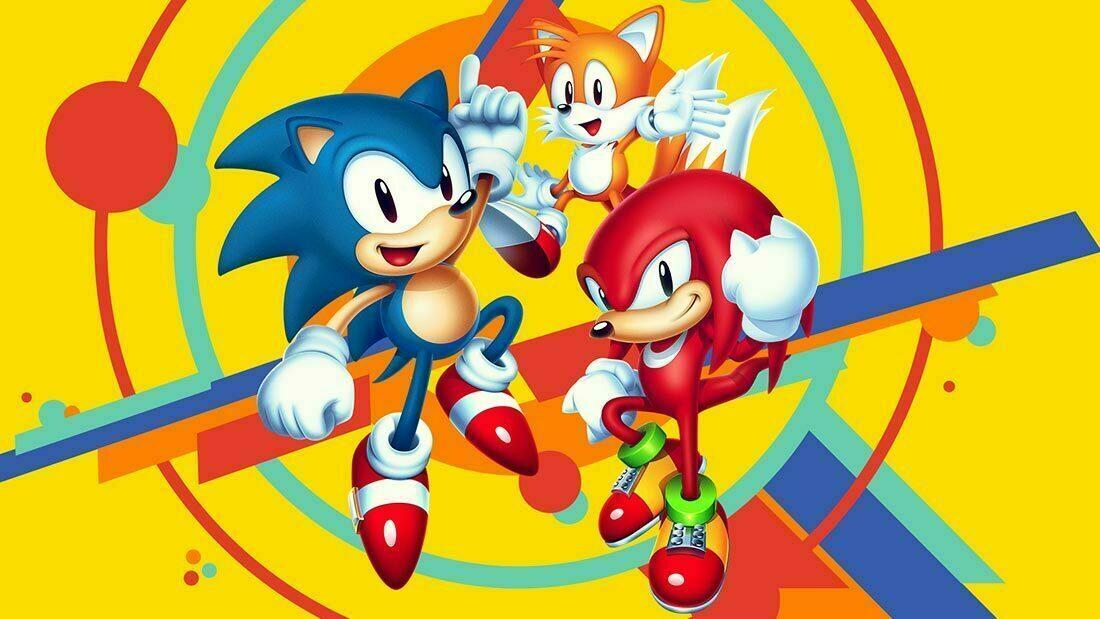 Sonic Mania Artwork Banner