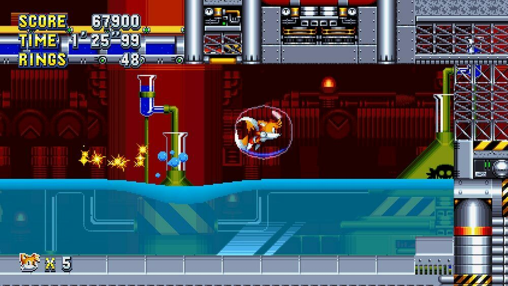 Sonic Mania PC Gameplay Screenshot