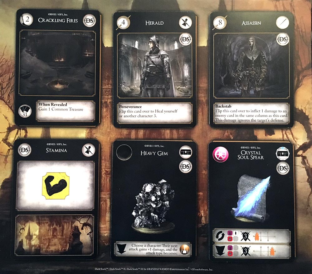 Dark Souls: The Card Game Review Cards