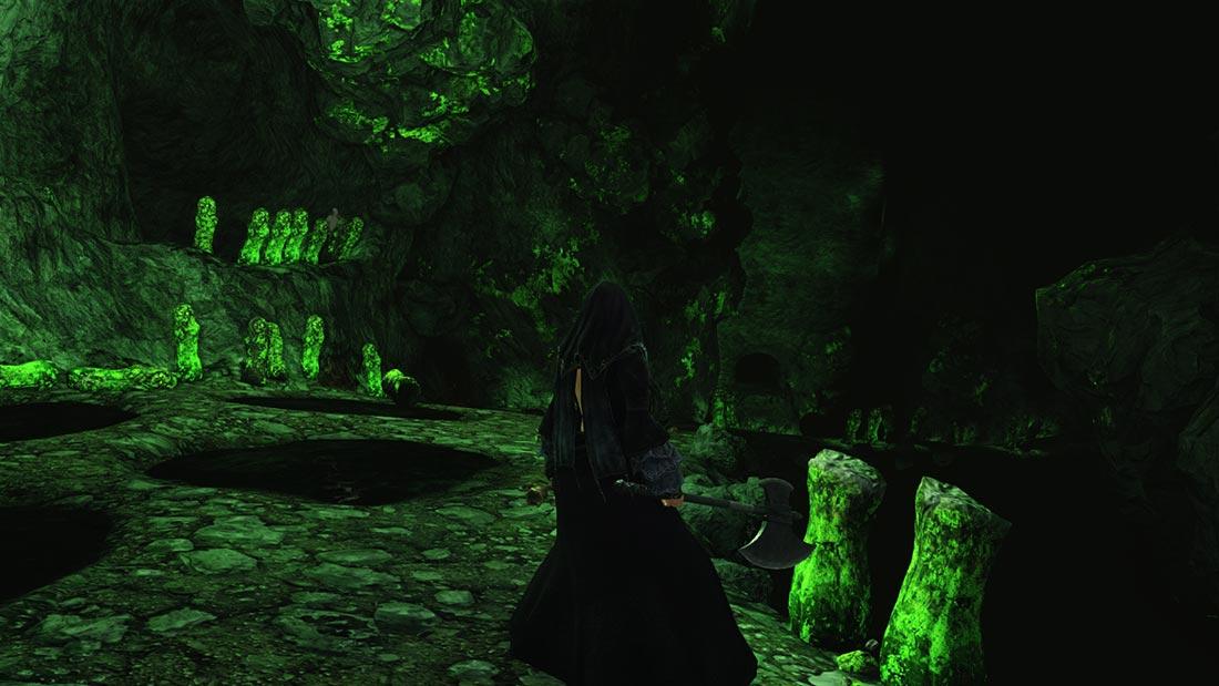The World of Dark Souls II Black Gulch