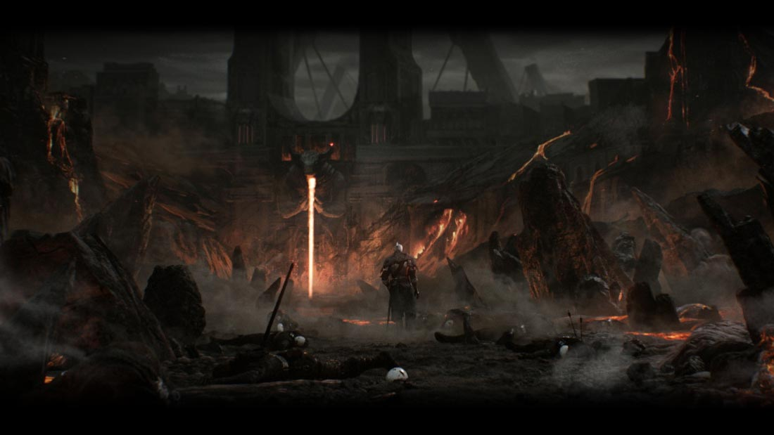 The World of Dark Souls II Drangleic Trailer Banner