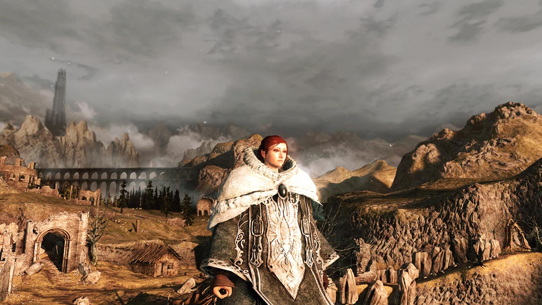 The World of Dark Souls II Majula Banner