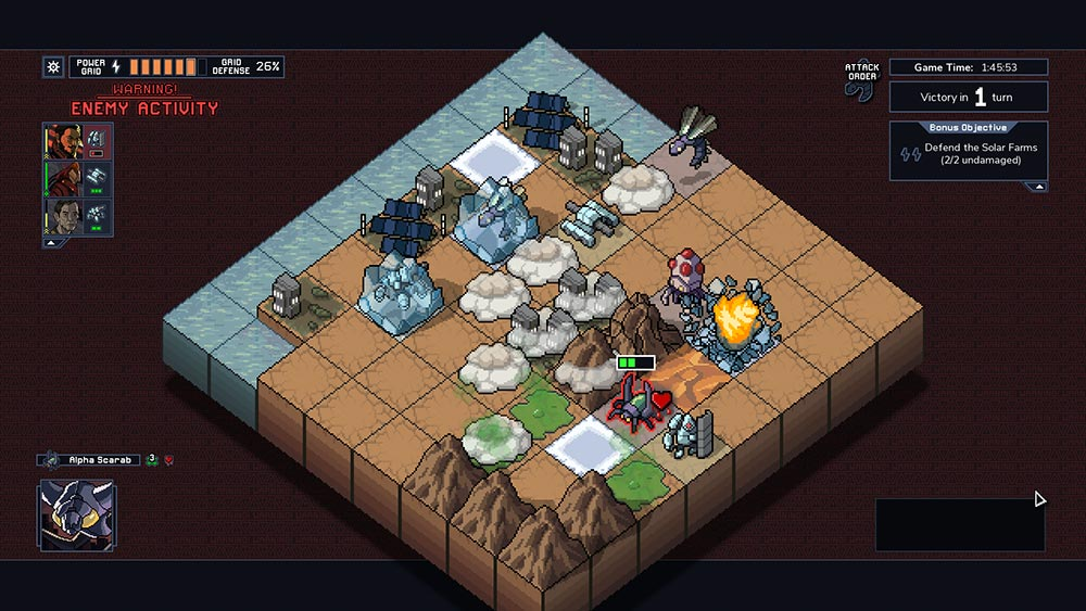 Into the Breach Gameplay Screenshot