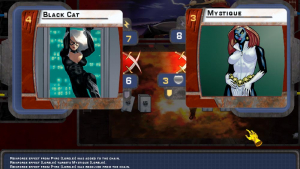 Marvel Trading Card Game Gameplay Screenshot