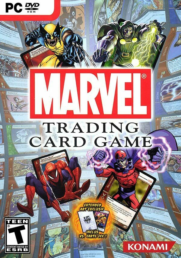 Marvel Trading Card Game PC Box Art