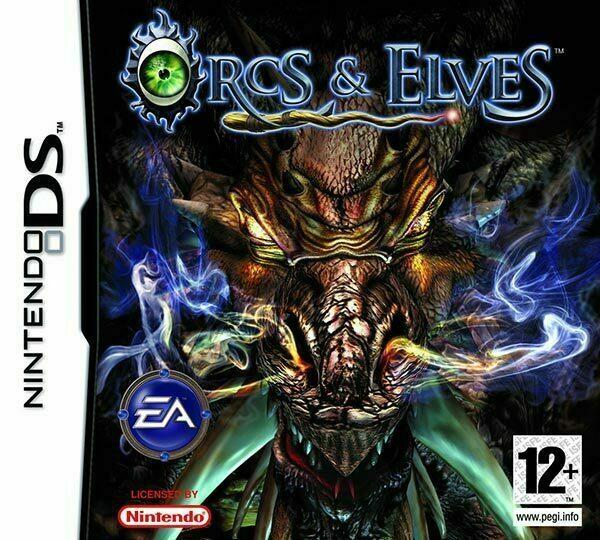Orcs & Elves Nintendo DS Box Art