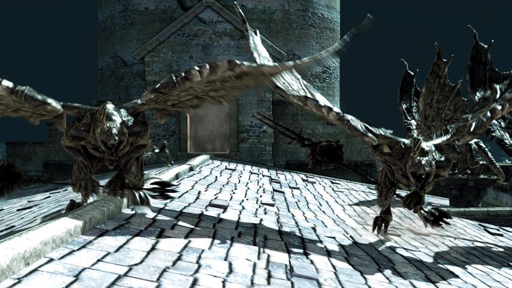 The World of Dark Souls II Belfry Gargoyles