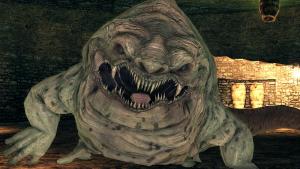 The World of Dark Souls II Earthen Peak Covetous Demon