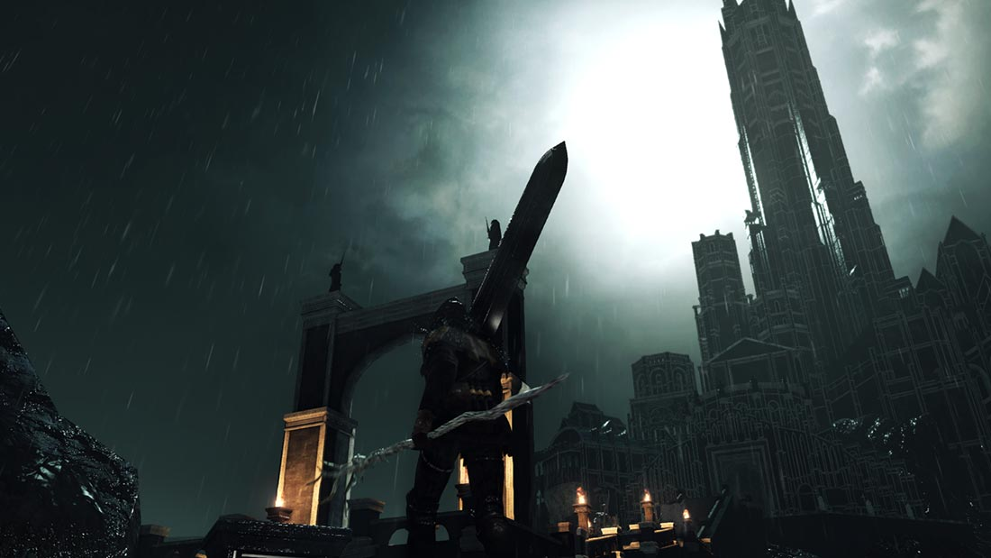 The World of Dark Souls II Drangleic Castle