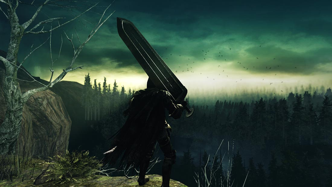 The World of Dark Souls II Huntsman's Copse