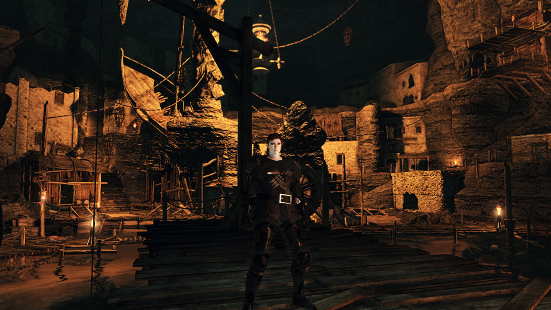 Exploring the World of Dark Souls II No-Man's Wharf