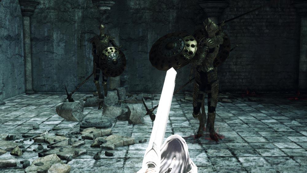 The World of Dark Souls II Ruin Sentinels