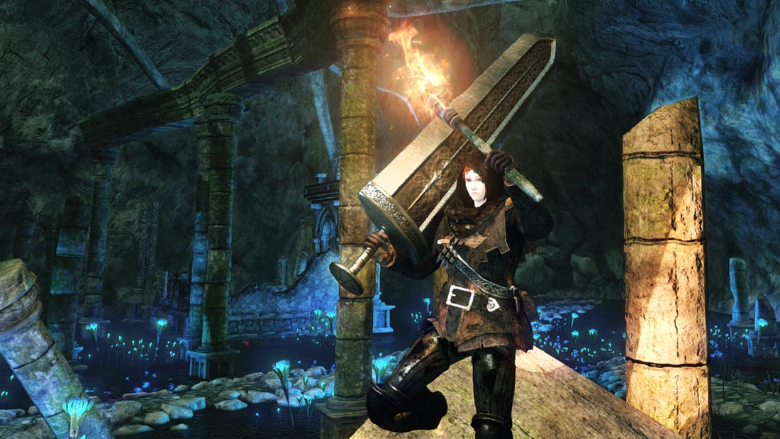 The World of Dark Souls II Shrine of Amana