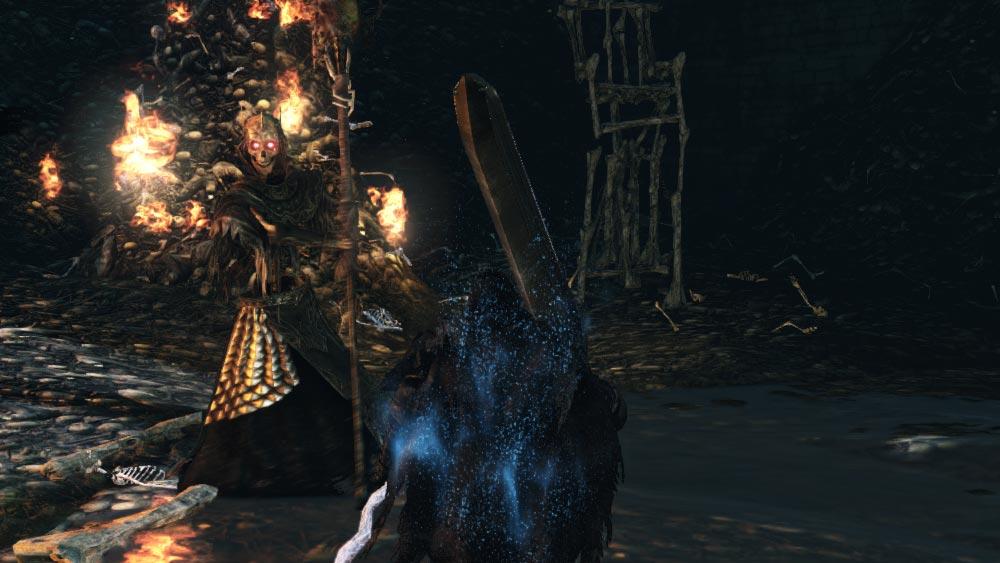 The World of Dark Souls II Skeleton Lords