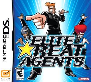 Elite Beat Agents Nintendo DS NTSC-U Box Art