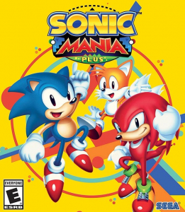 Sonic Mania Plus NTSC-U Box Art