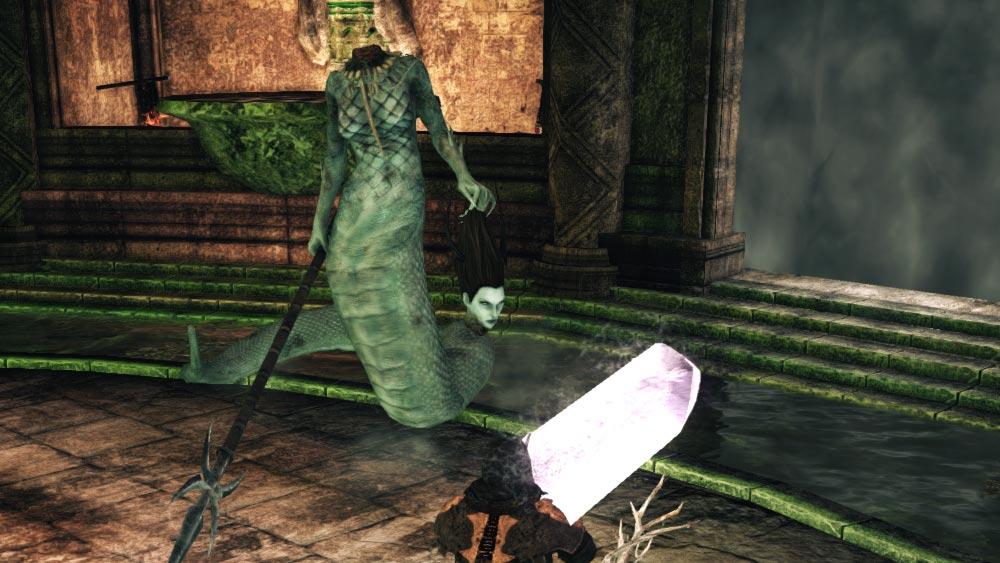 The World of Dark Souls II Earthen Peak Mytha, The Baleful Queen