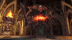 The World of Dark Souls II Smelter Demon