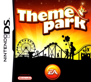 Theme Park Nintendo DS Box Art