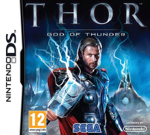 Thor God of Thunder Nintendo DS PAL Box Art
