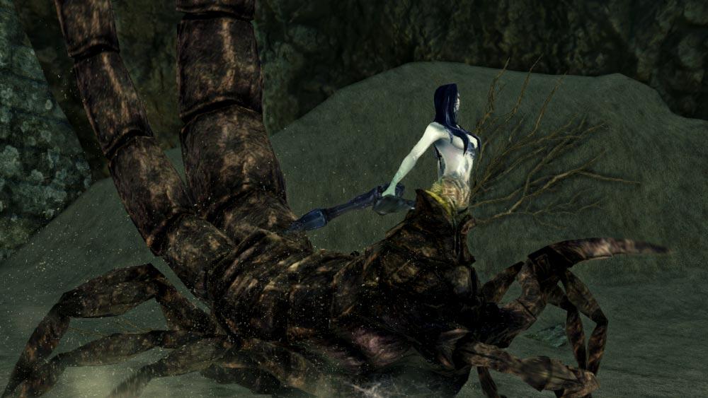 The World of Dark Souls II Scorpioness Najka