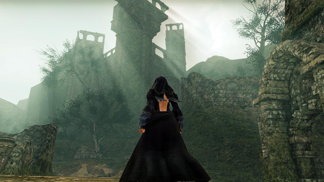 The World of Dark Souls II Shaded Woods