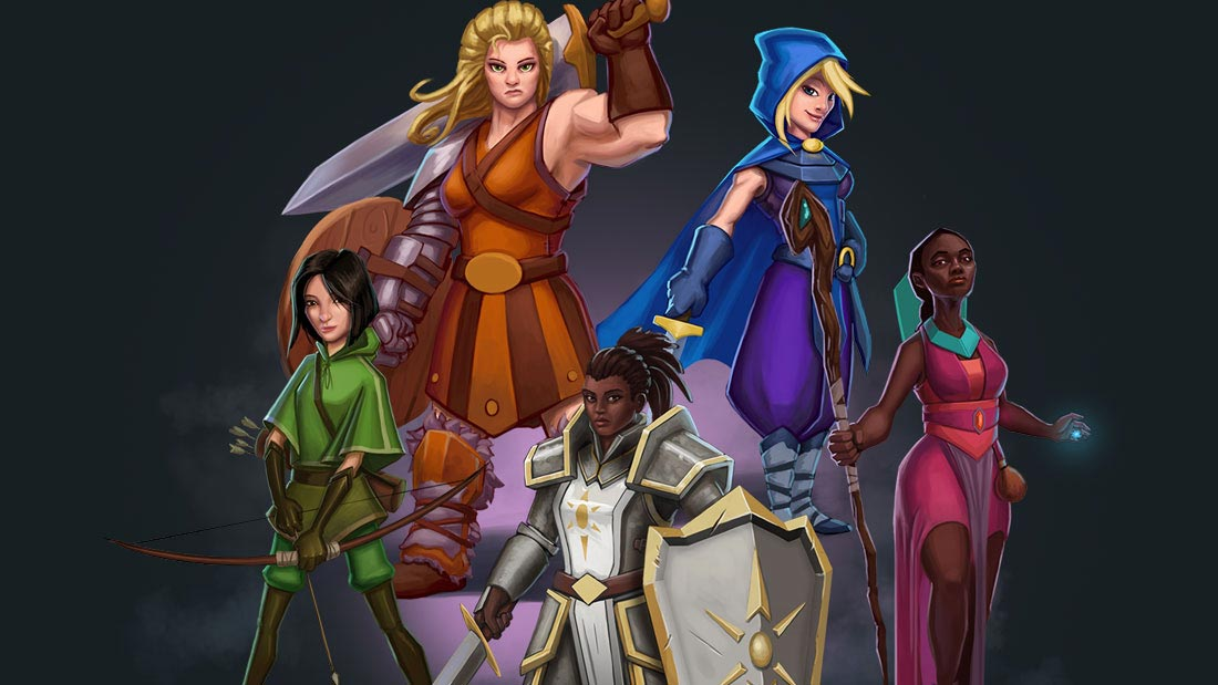 One Deck Dungeon Digital Artwork Banner