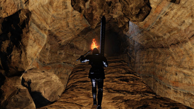 The World of Dark Souls II Dark Chasm of Old