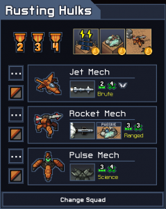 Into the Breach Squad Tier List Rusting Hulks