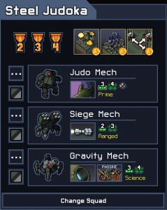 Into the Breach Squad Tier List Steel Judoka