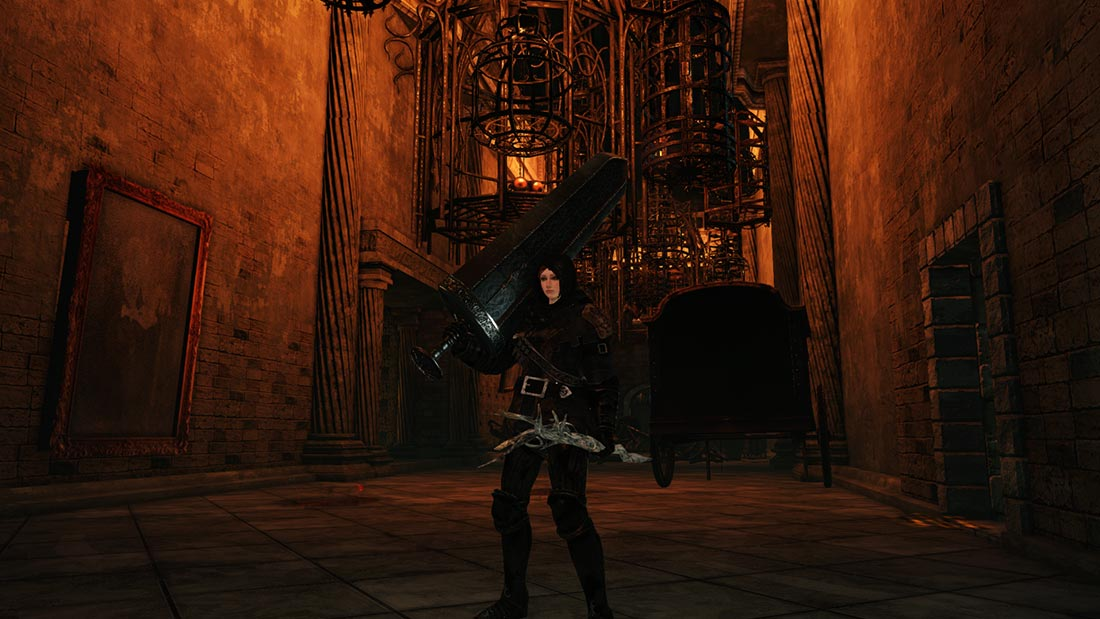 The World of Dark Souls II Aldia's Keep