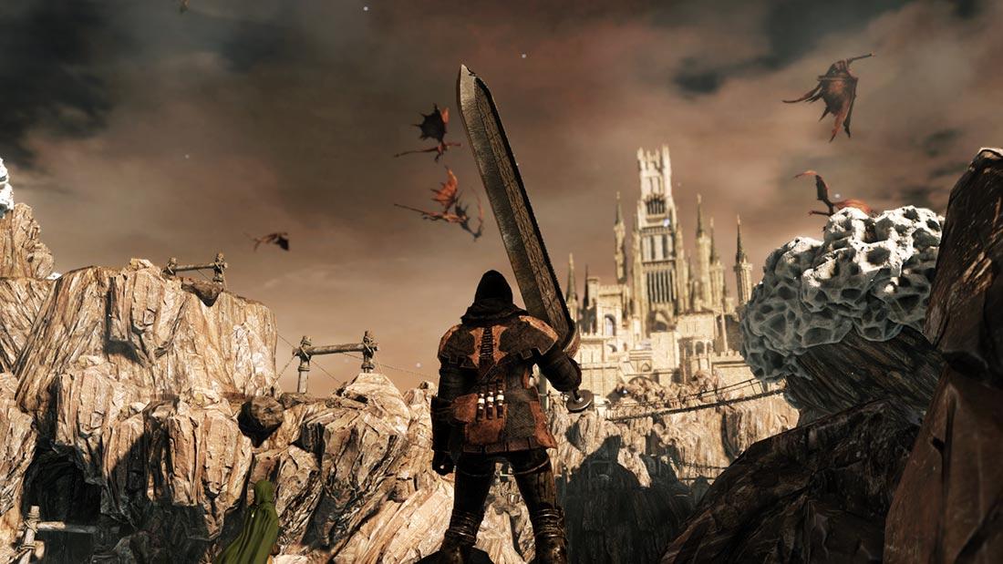 The World of Dark Souls II Dragon Aerie
