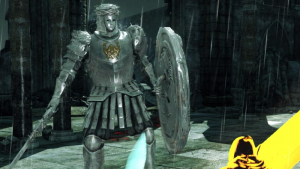The World of Dark Souls II Looking Glass Knight