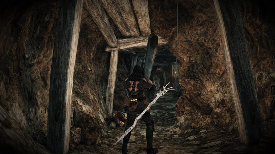 The World of Dark Souls II Memory of Jeigh