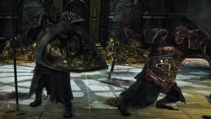 The World of Dark Souls II Twin Dragonriders