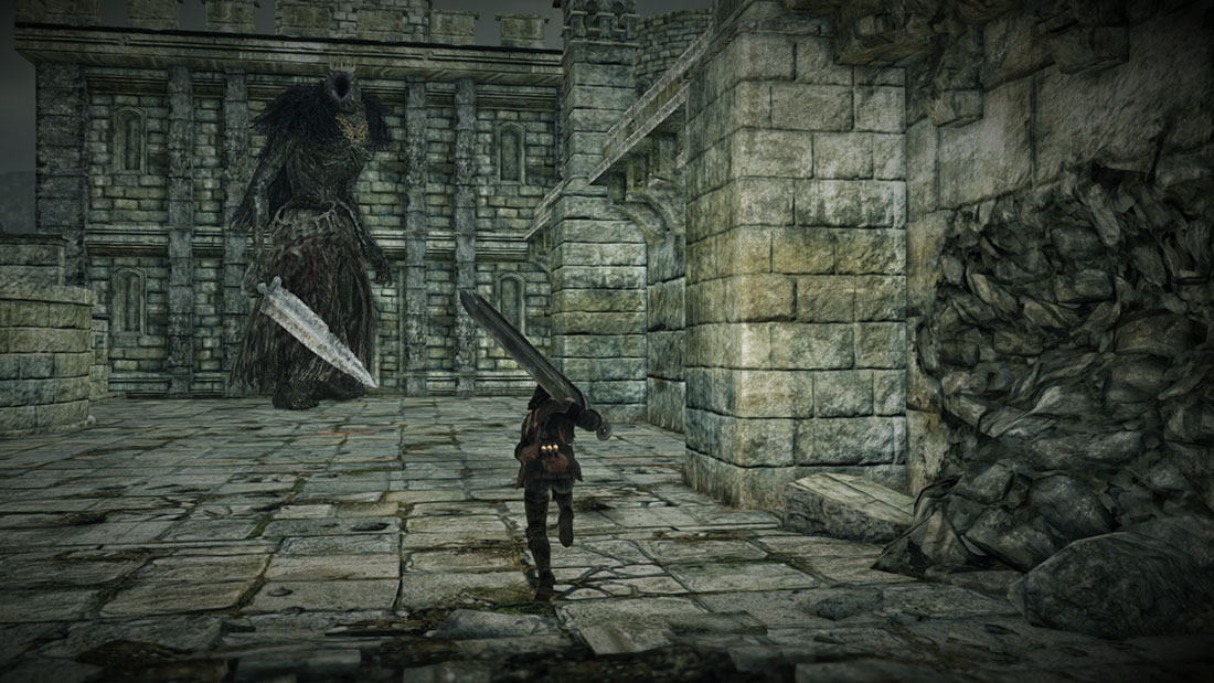 The World of Dark Souls II Giant Lord